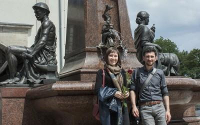 Rekonstrukcja fontanny w Chemnitz